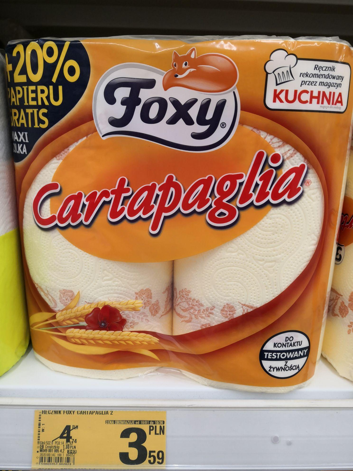 Ręczniki papierowe Foxy Cartapaglia @ Auchan Słupsk