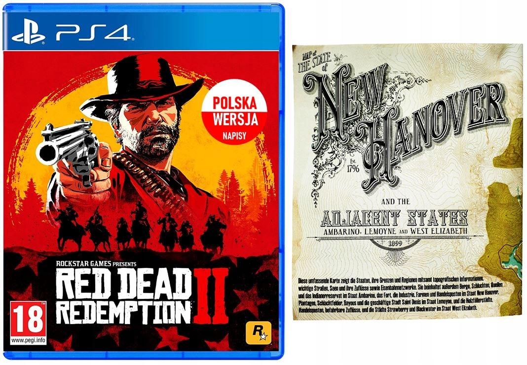 Red Dead Redemption 2 PL PS4