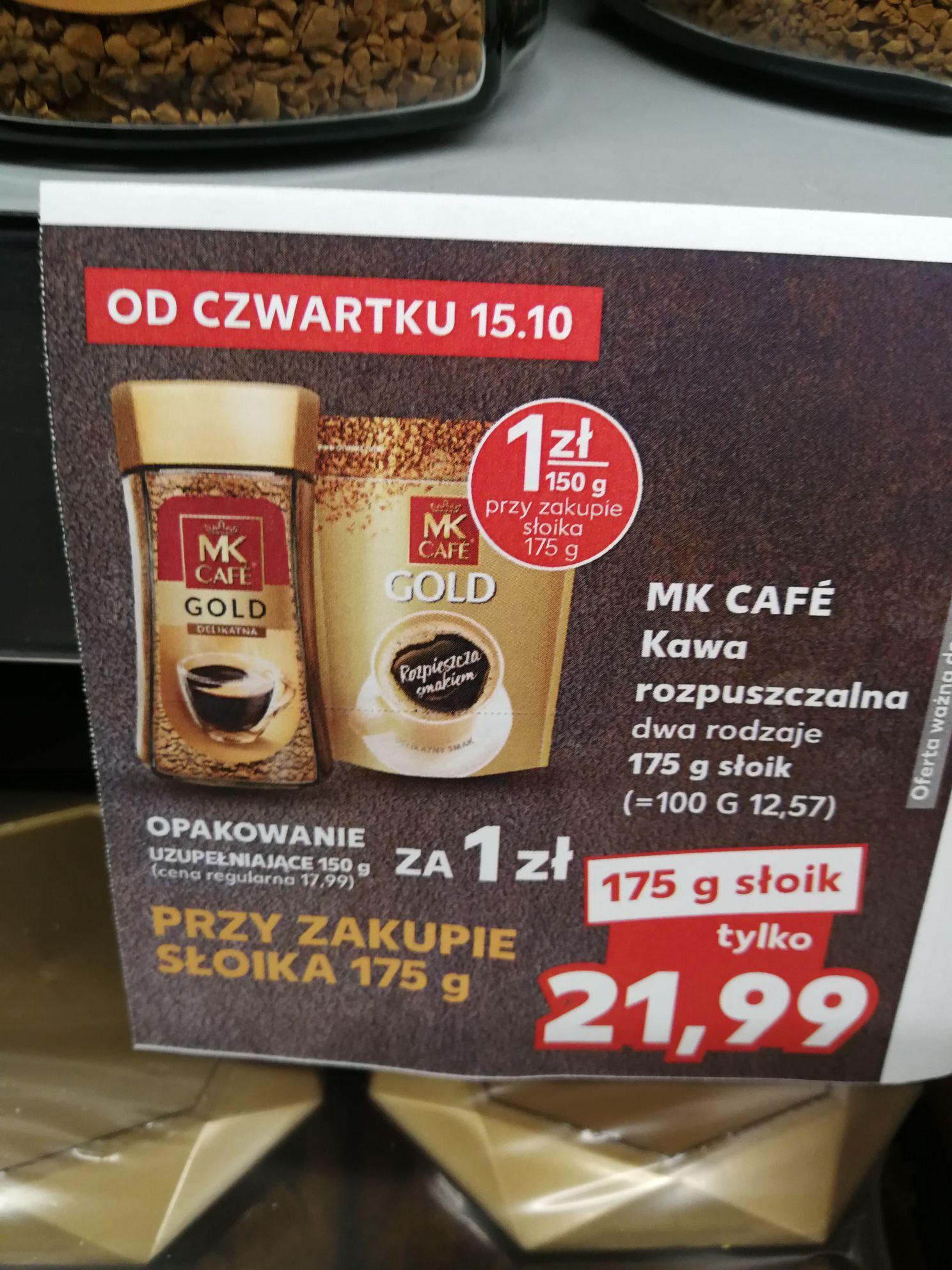 Kawa MK Cafe + uzupełniające opakowanie