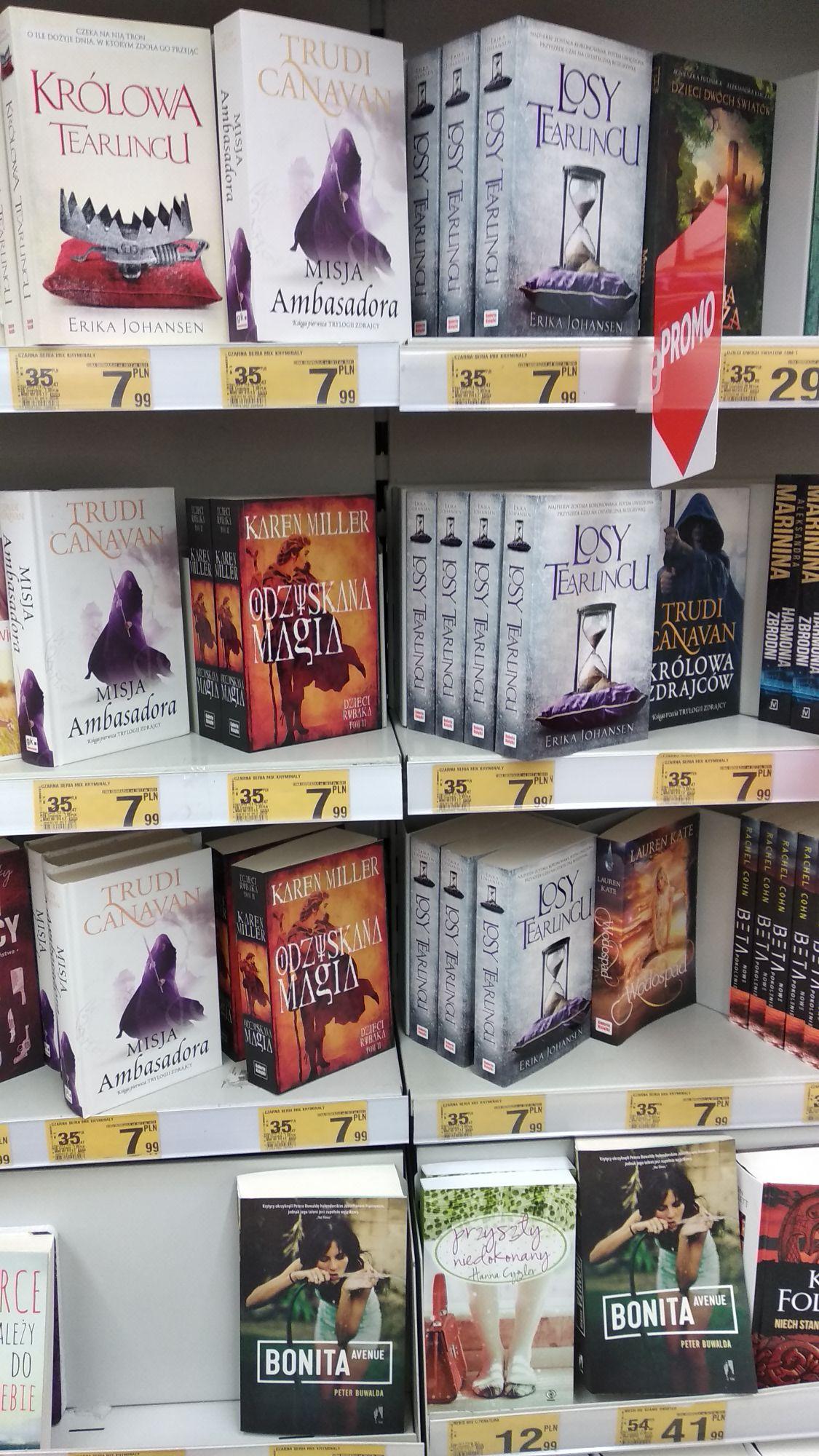 Dobre książki po 8 zł w Auchan Pasaż Łódzki