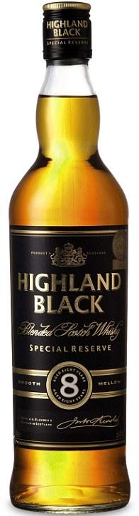 Whisky Highland black 0.7l. 8yo - ALDI