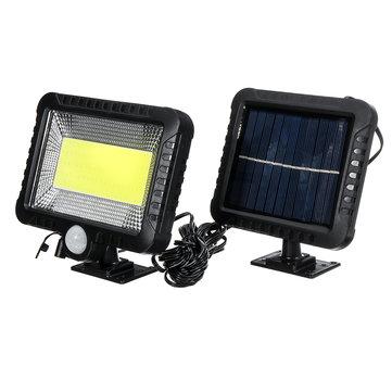 Lampa z sensorem ruchu i panelem solarnym IPRee COB 30W 100LED IP65