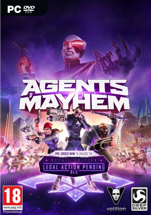 Agents Of Mayhem PC PL Steam