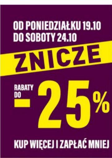 Znicze do -25 %