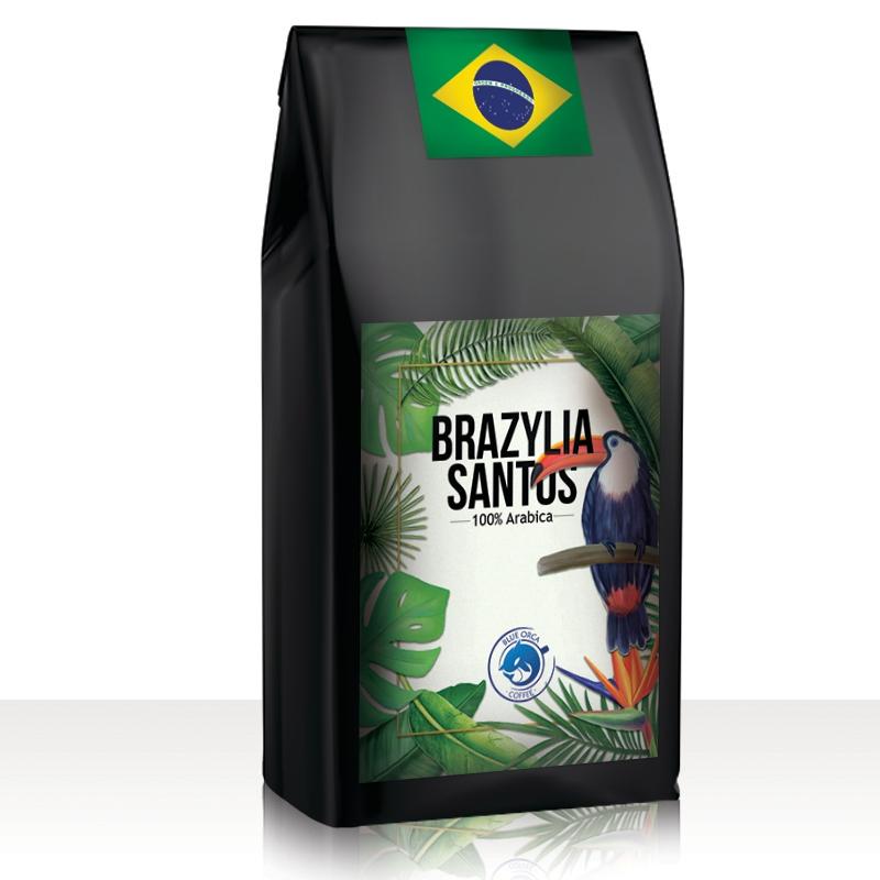 Kawa Ziarnista Brazylia Santos - 1KG świeżo palonej za 40zł [Allegro]