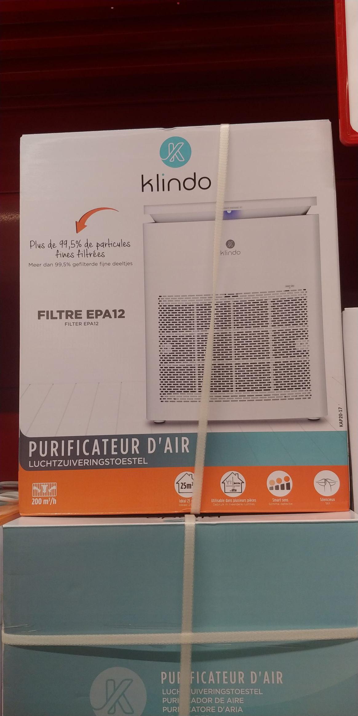 Oczyszczacz powietrza Klindo kap20-17. Carrefour Lublin