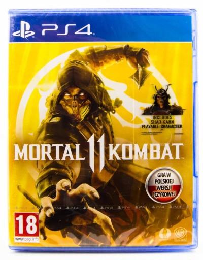 Mortal Kombat 11 PL Nowa PS4 Bijatyka