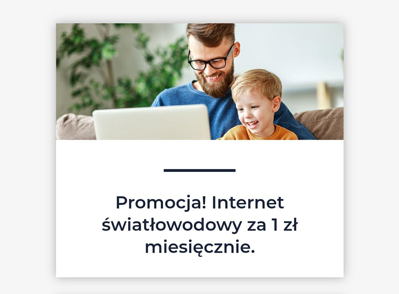 3 miesiące po 1 zł internet światłowód Forweb. Wieliszew , Legionowo, Łódź+ dodatkowa promocja