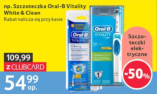 Szczoteczki elektryczne Oral-B 50% taniej !