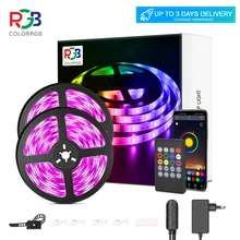 Taśma LED RGB - 5m (3,29$) - sterowana telefonem