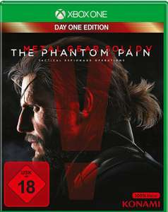 METAL GEAR SOLID PHANTOM PAIN DAY ONE XBOX ONE