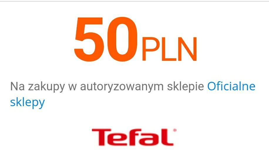 [Allegro] -50 zł na zakupy w autoryzowanym sklepie Tefal