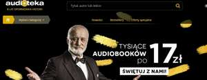 Audiobooki po 17zł @ Audioteka