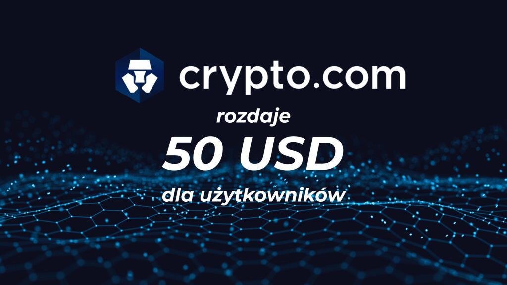 Krypto.com - 50$ bonusu!
