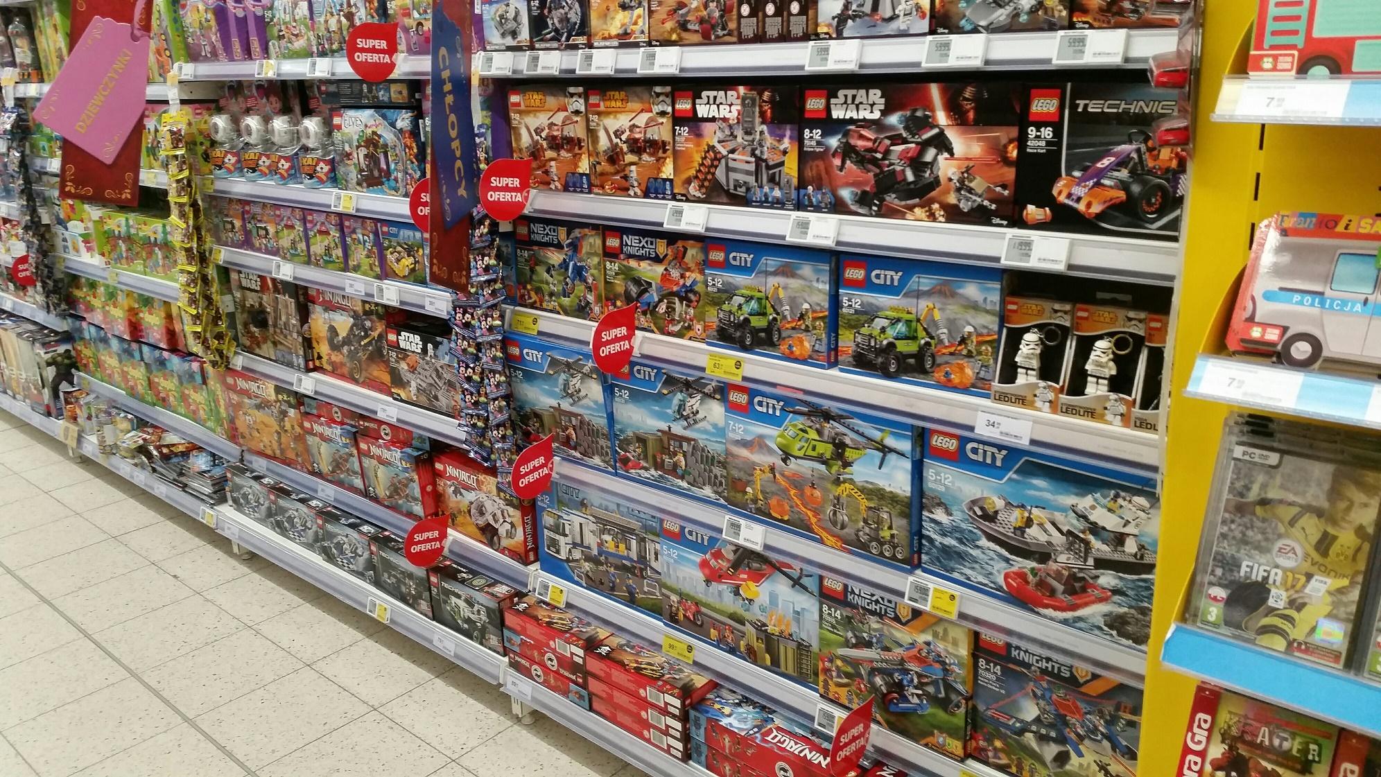 LEGO w promocji w Tesco