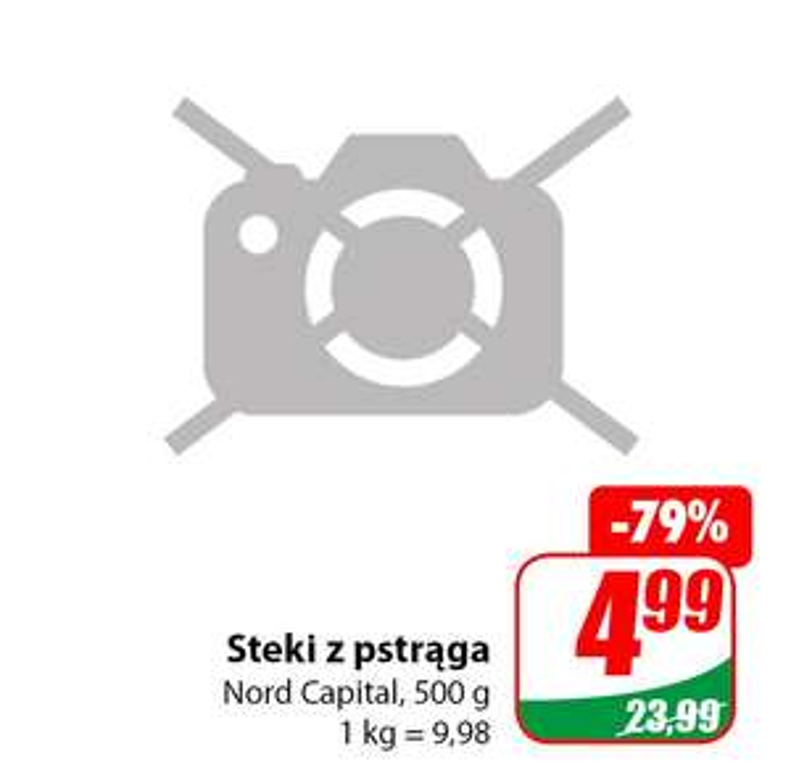 Steki z pstrąga 500g Nord Capital - DINO