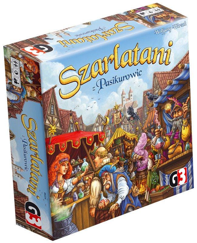 Promocja na gry planszowe od wydawnictwa G3 | Szarlatani z Pasikurowic, Sabotażysta i inne