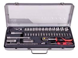 LUX TOOLS Zestaw kluczy nasadowych i bitów 3982014