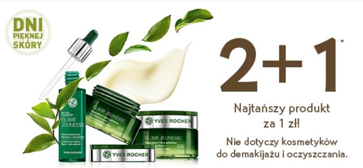 2+1 za 1zł - promocja na kosmetyki w @YvesRocher - 44 produkty