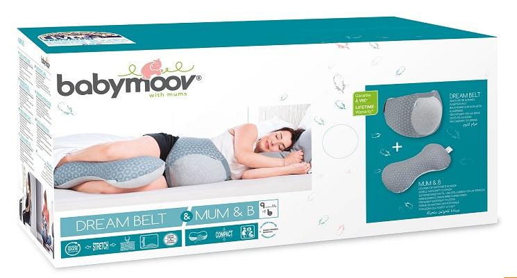 Zestaw Babymoov - pas dla kobiet w ciąży + poduszka do karmienia za 89,99zł @ Empik