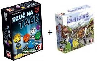 Pakiet: Stinky Business + Rzuć na tacę /gry planszowe