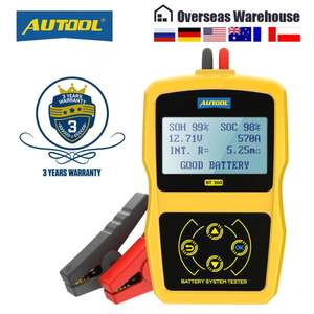 AUTOOL BT360 - Tester akumulatora