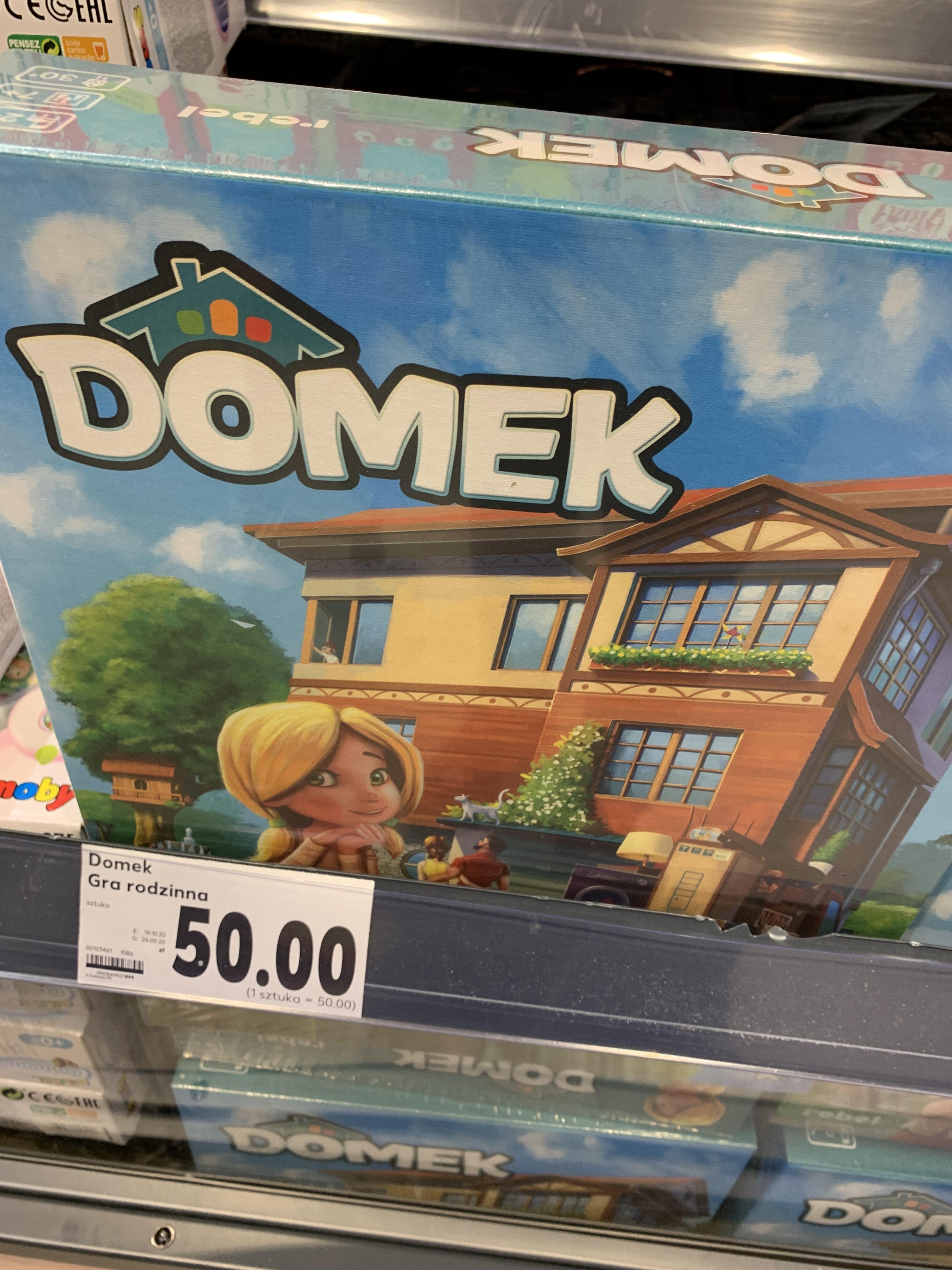 Gra planszowa Domek