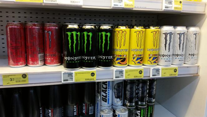 Monster Energy różne rodzaje 3,99 w Tesco
