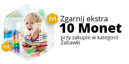 Allegro, +10 Monetprzy zakupie za min. 120 zł w kategorii Zabawki