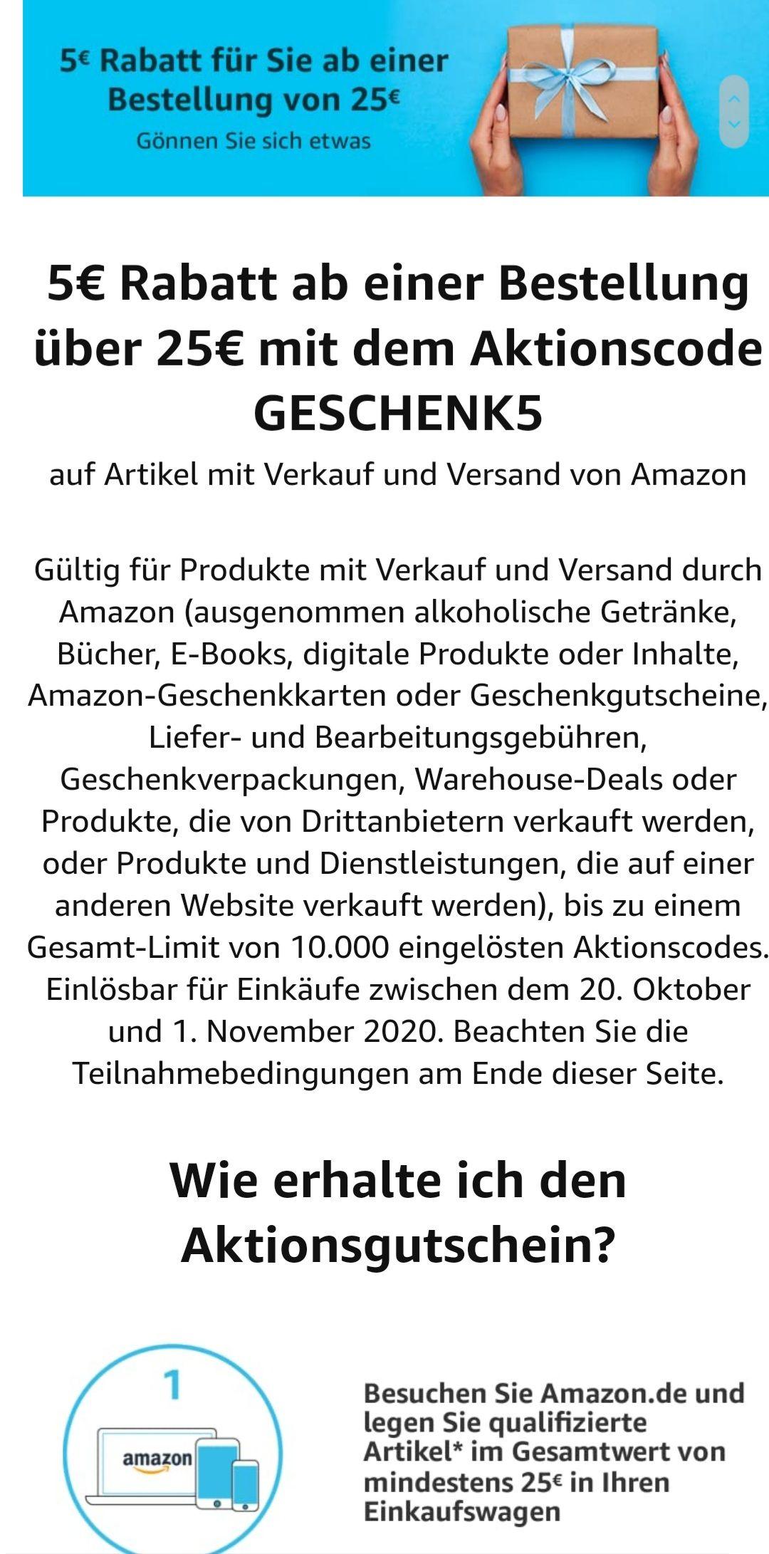 Niemiecki Amazon 5€
