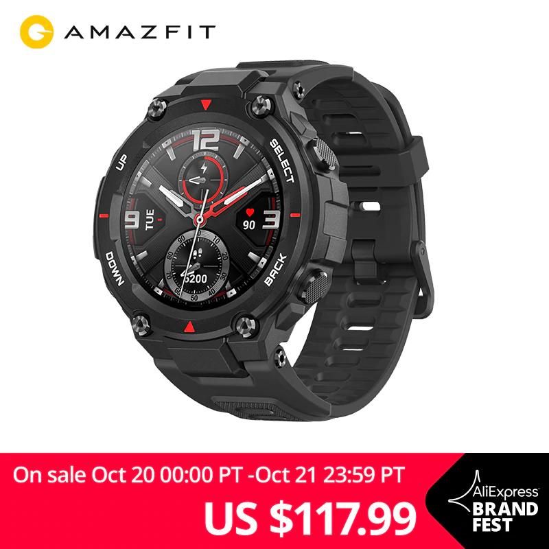 Smartwatch Amazfit T-Rex z wysyłką z Polski za 103,99$ @ AliExpress
