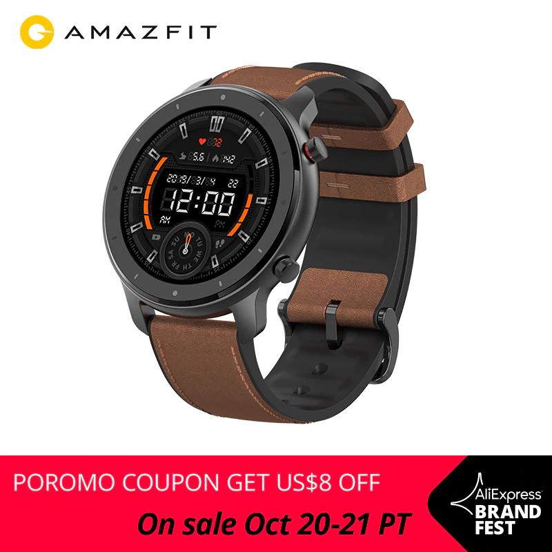 Smartwatch Amazfit GTR 47mm z Polski (Amazfit GTR 42mm za 366 zł) @AliExpress