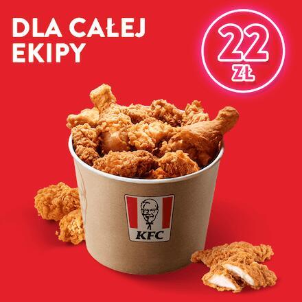 KUBEŁEK KFC za 22 zł - oferta znowu dostepna