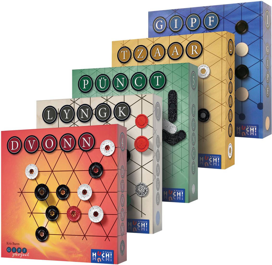 Seria GIPF pakiet w super cenie - gry planszowe, logiczne