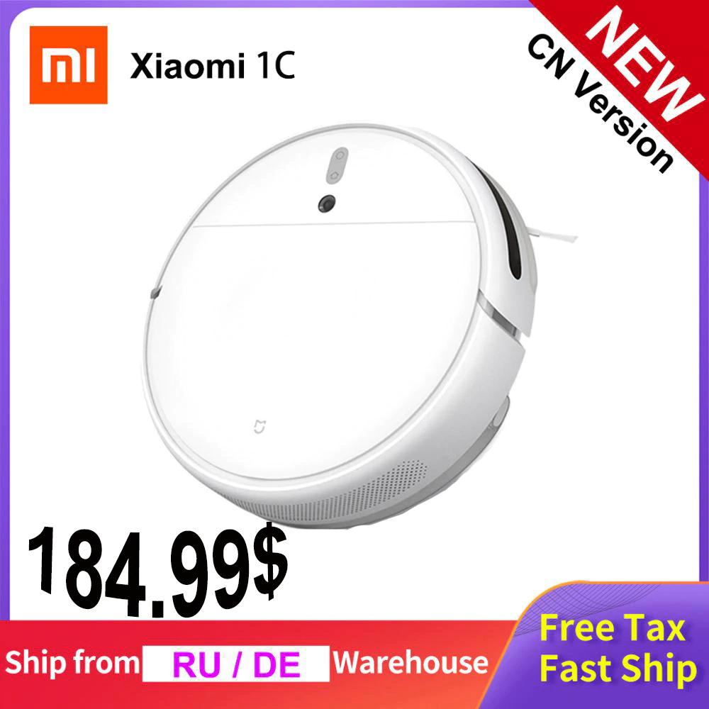Odkurzacz automatyczny Xiaomi 1C z mopowaniem + nawigacja optyczna + Mi Home + wysyłka z EU za $184.99