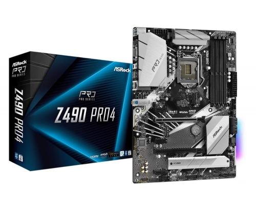 Płyta główna AsRock Pro 4 Z490 LGA 1200
