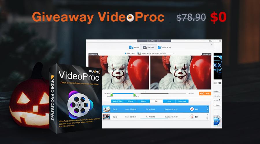 Program VideoProc za darmo