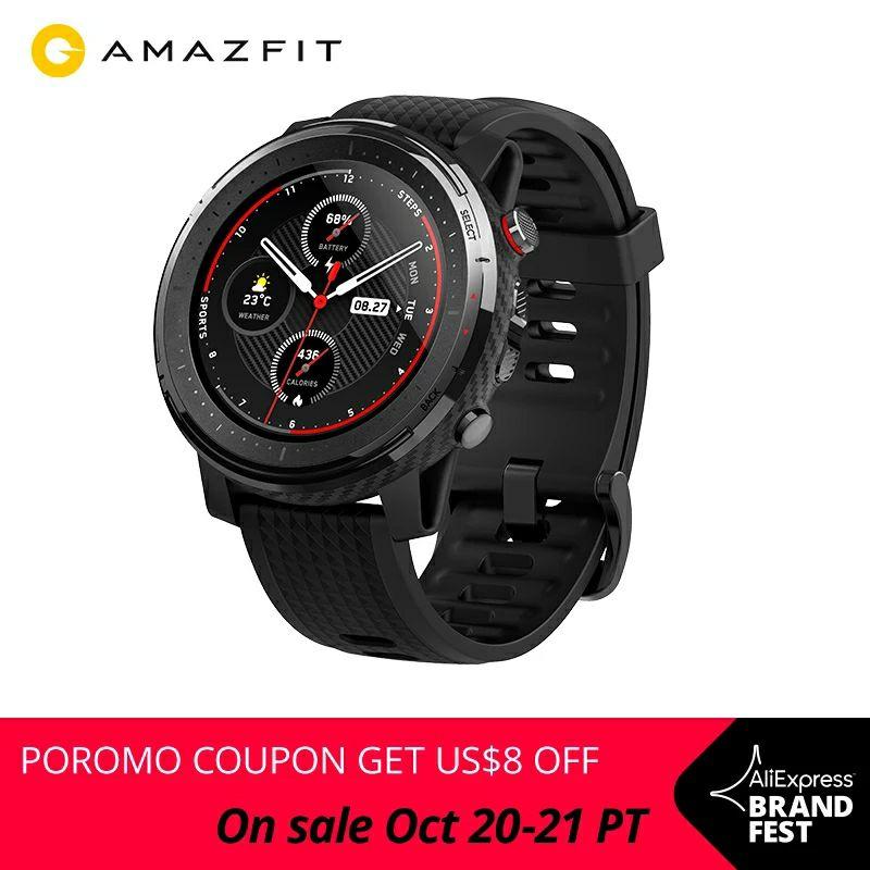 Xiaomi Amazfit Stratos 3 z Polski za 153$