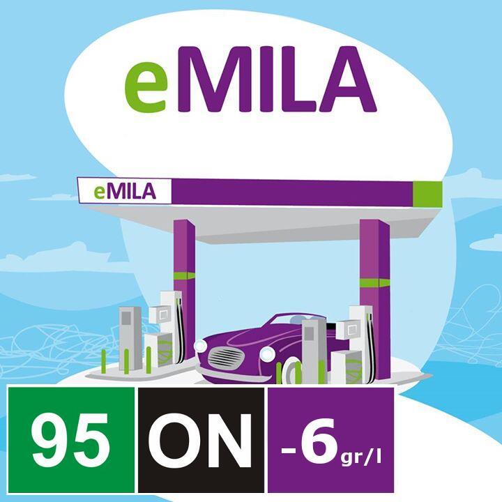 Rabat 6gr / litr dowolnego paliwa, eMila