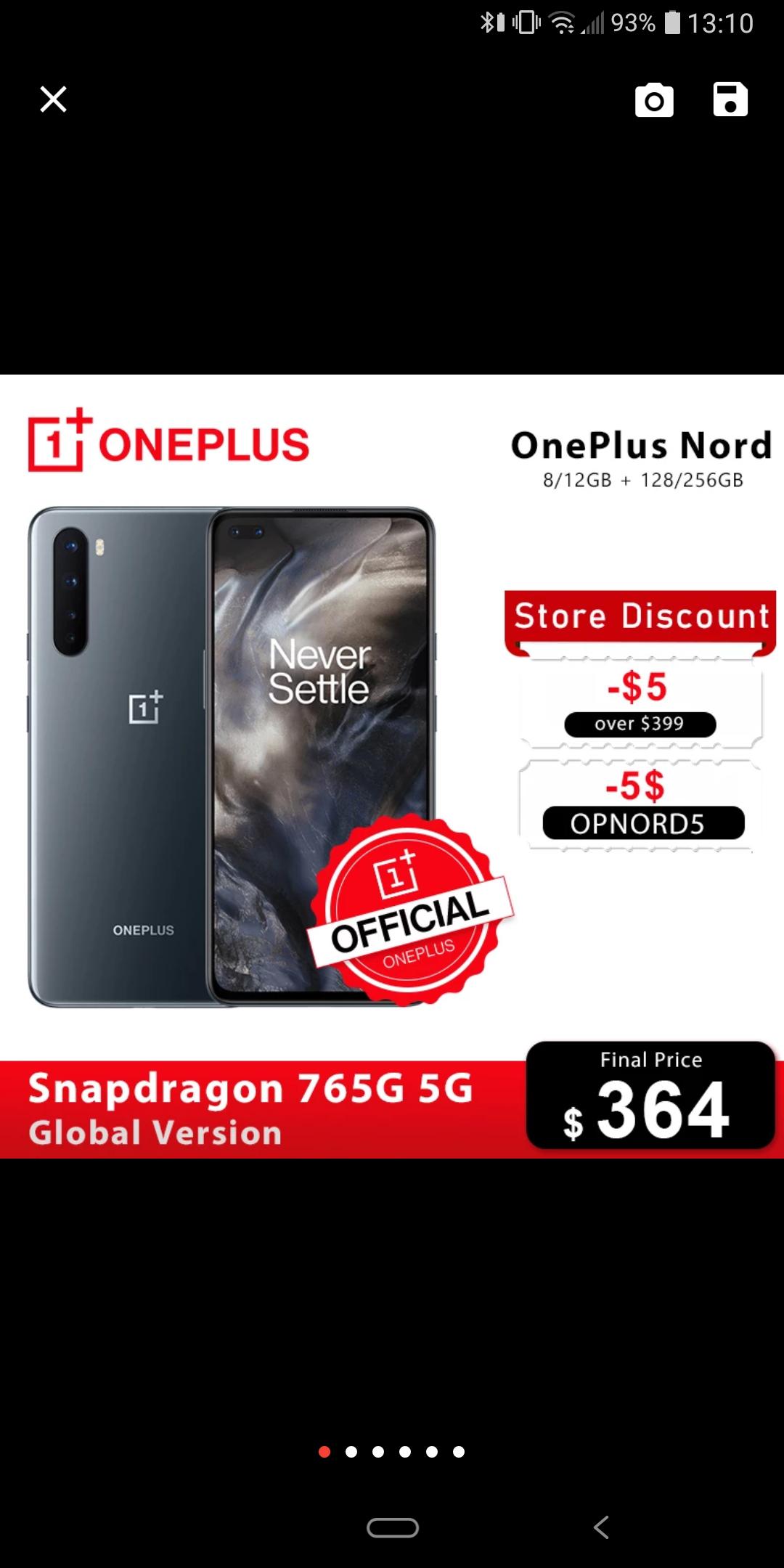 Oneplus Nord 8/128 wysyłka z Polski