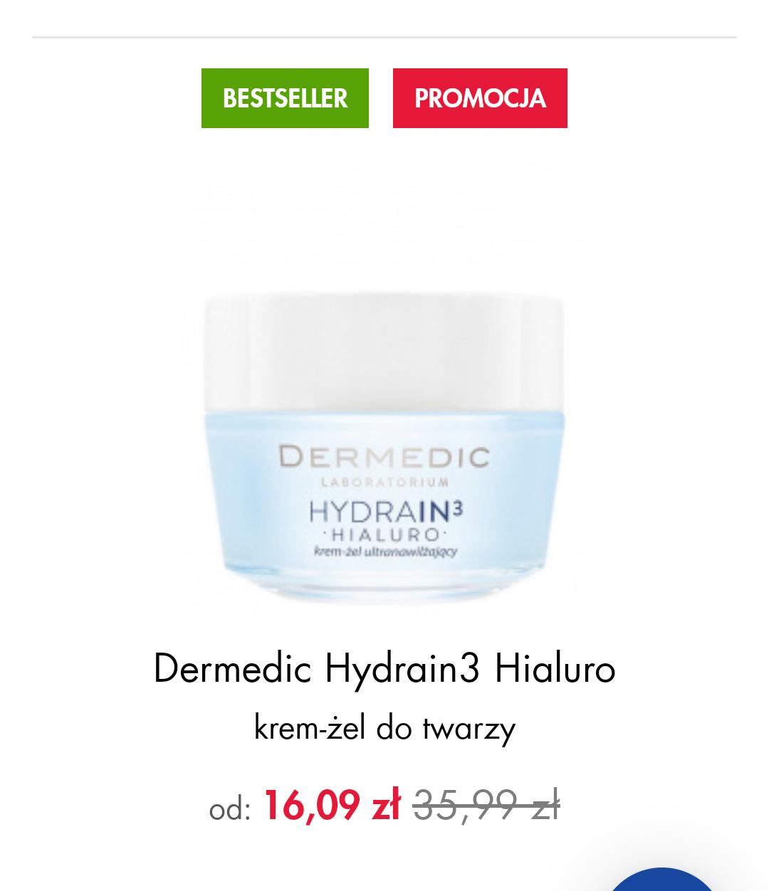 Dermedic Hydrain3 Hialurono w Super-pharm