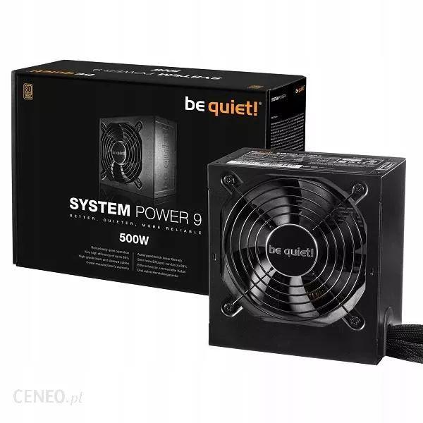 Be quiet! Zasilacz System Power 9 500W oraz wersja pół modularna za 249zł