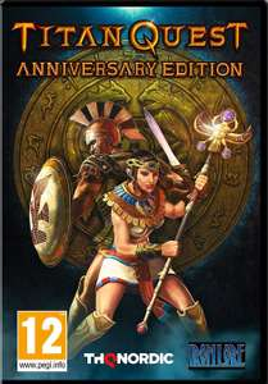 Titan Quest Anniversary Edition PC PL STEAM