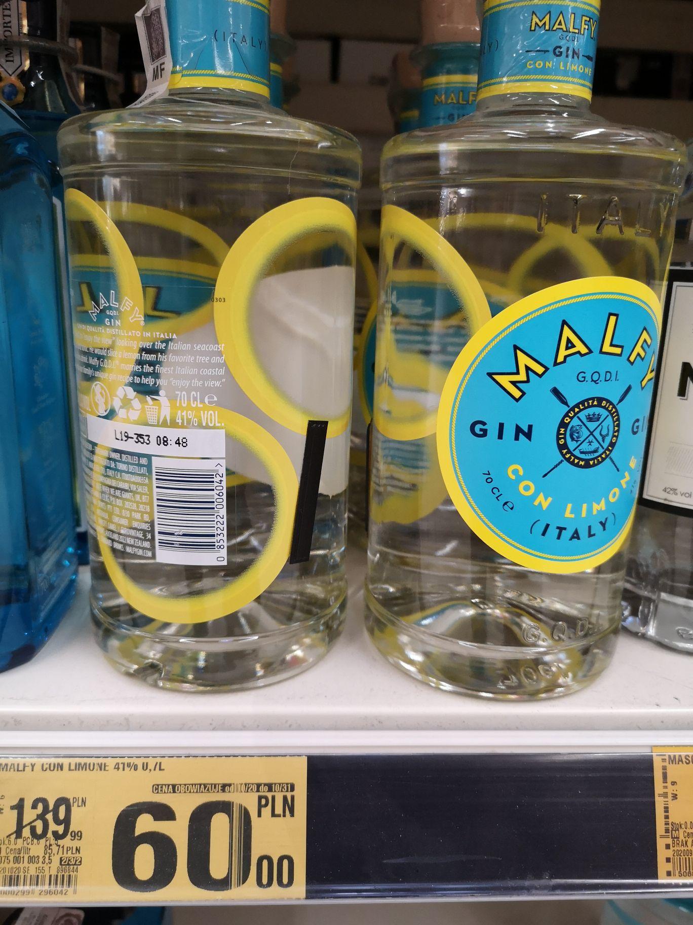 Gin Malfy Con Limone