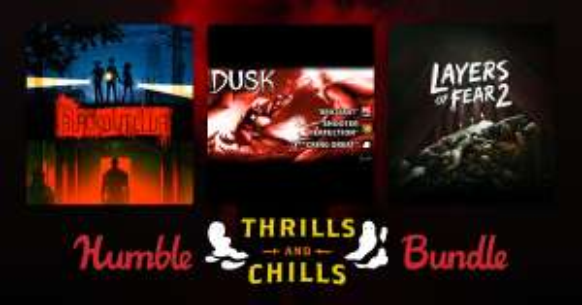 Humble Thrills & Chills Bundle @humblebundle