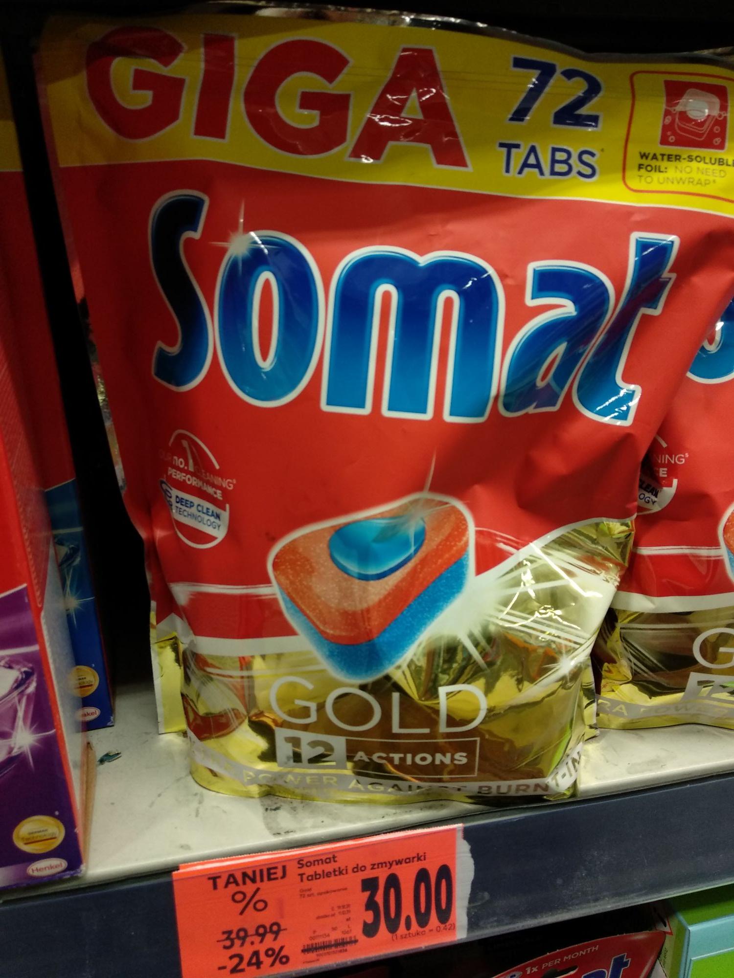 Somat Gold 72 tabs. 0,42 zł za tabletkę