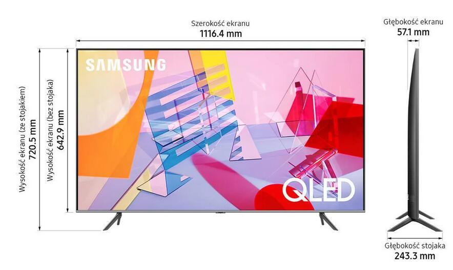 Telewizor SAMSUNG QLED QE50Q64TAU