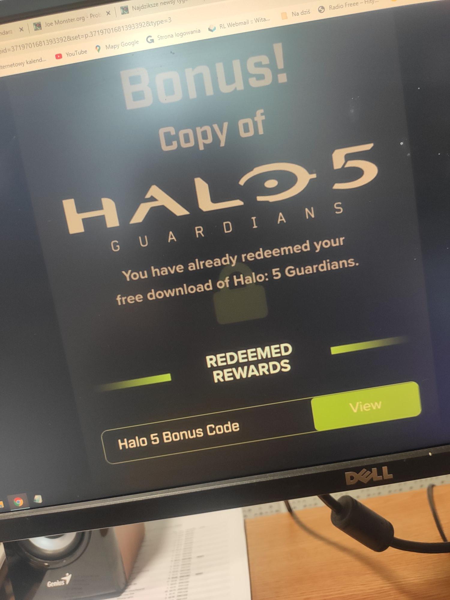 Halo 5 za darmo na konsolę Xbox One