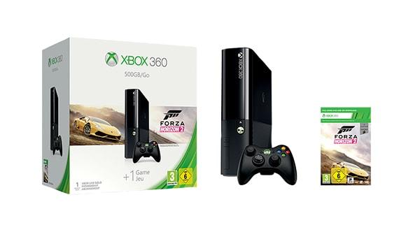 Xbox 360 500-GB + Forza Horizon 2 (Microsoft Store Austria)
