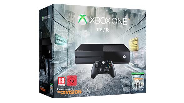 Xbox One 1TB + Tom Clancy's The Division + Gears of War 4 za ok. 820zł i inne zestawy @ Microsoft Store (Szwajcaria)